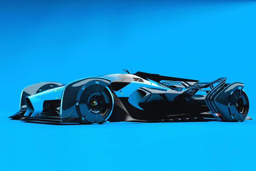 Удивительный дизайн прятали в течение пяти лет: представлена пока безымянная концепция аналога Bugatti Type 35