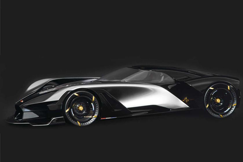 Прощание со старой эрой: художник представил, как будет выглядеть последнее авто Bugatti La Finale на двигателе внутреннего сгорания