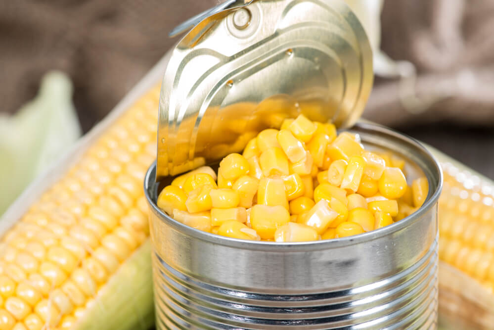 Кукуруза в банке картинка