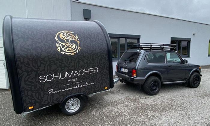 """Бывший гонщик """"Формулы-1"""" Ральф Шумахер выразил доверие к российскому автопрому и приобрел внедорожник «Нива» (4x4)"""