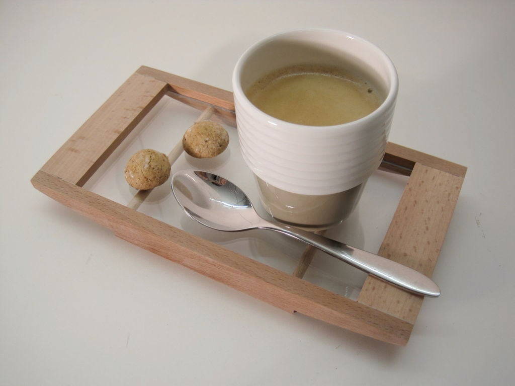 маленькие подносы для чая