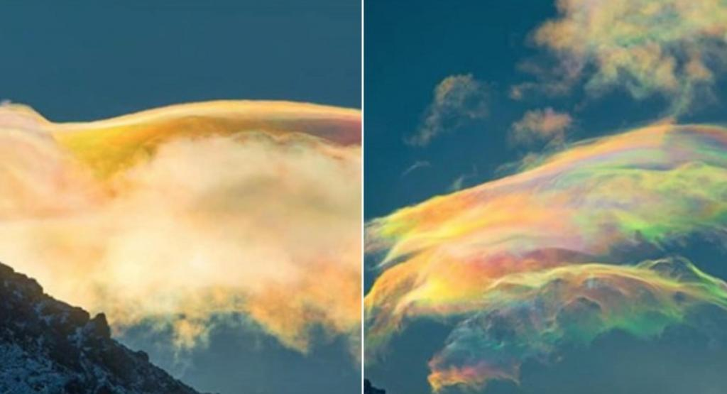 Радужные облака в Таиланде: фото загадки природы и редкого атмосферного явления