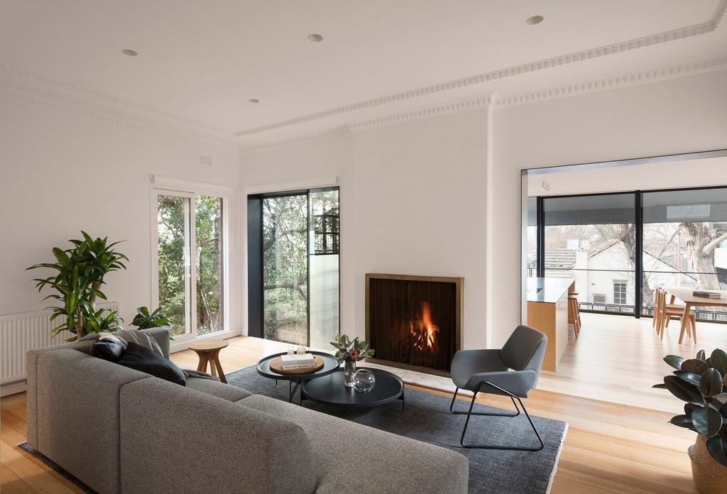 """Когда растения вырастут, это будет выглядеть как дом на дереве: необычная дизайн-задумка дома в Мельбурне с """"прицелом на будущее"""""""