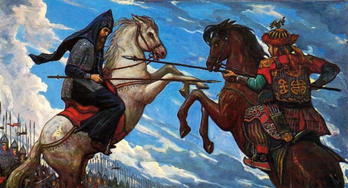 Поединок Пересвета и Челубея может быть всего лишь легендой