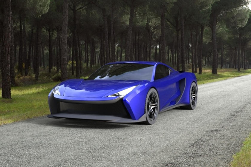 Обогнать любой автомобиль на планете: представлен новый электрический гиперкар Elektron One с амбициозными планами