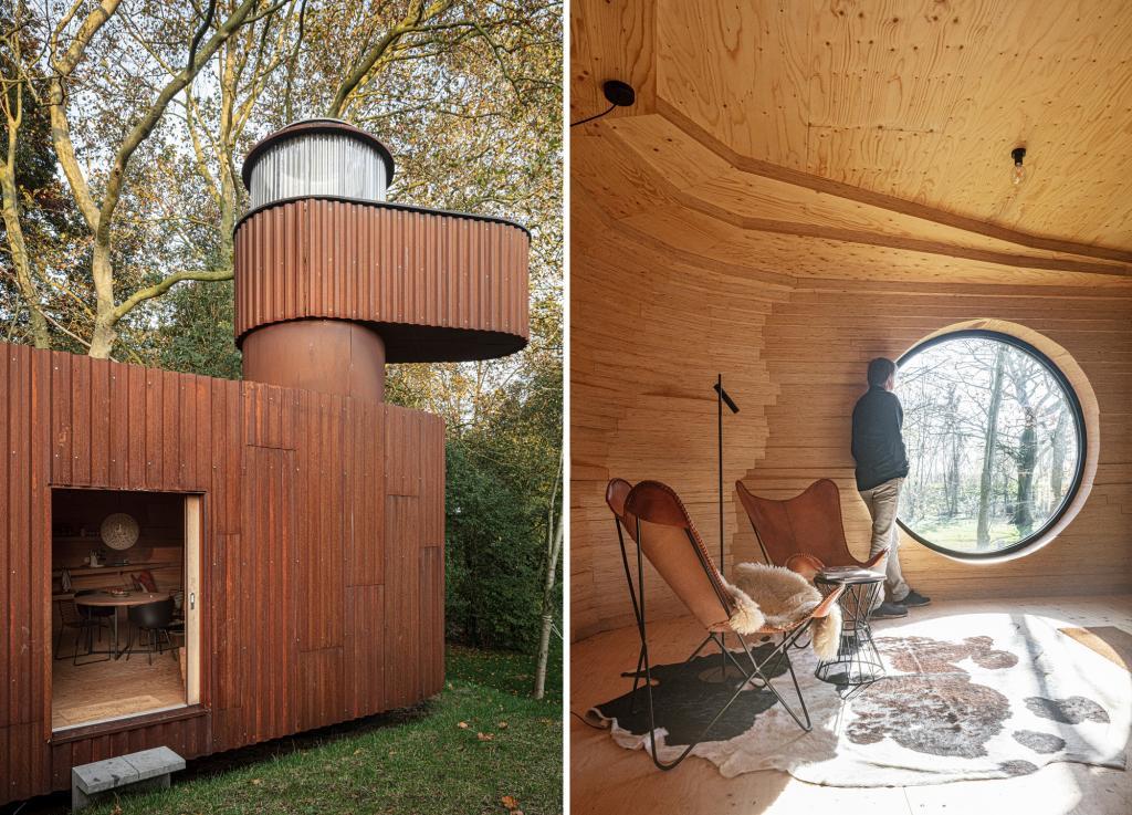 Мужчина попросил построить во дворе домик для гостей. Он получился лучше, чем его собственный дом (фото)