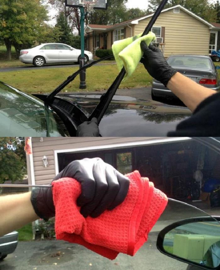 Грязь на стеклоочистителях может ухудшить зрение: о чем не стоит забывать при мытье автомобиля