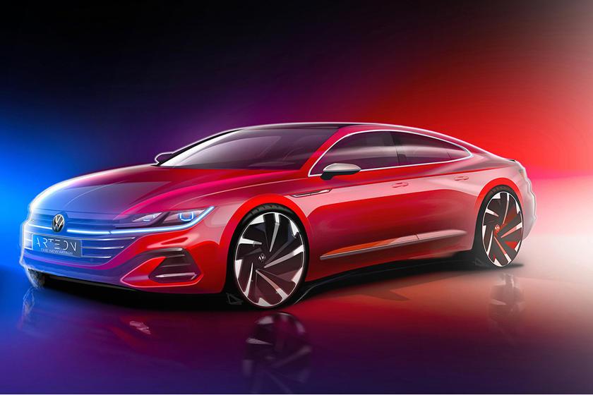 Volkswagen Arteon 2021 года будет ошеломляющим: 24 июня будет выпущен новый фейслифтинг авто