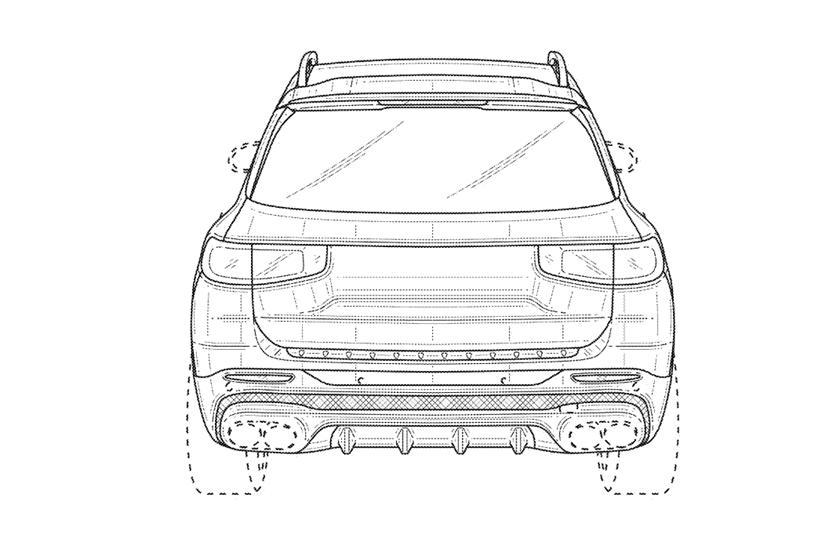 Это Mercedes AMG GLB 45: как будет выглядеть новое авто - первый взгляд на патентные эскизы