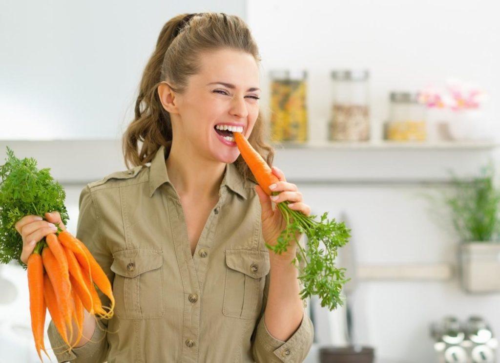 Картинки ешь морковку