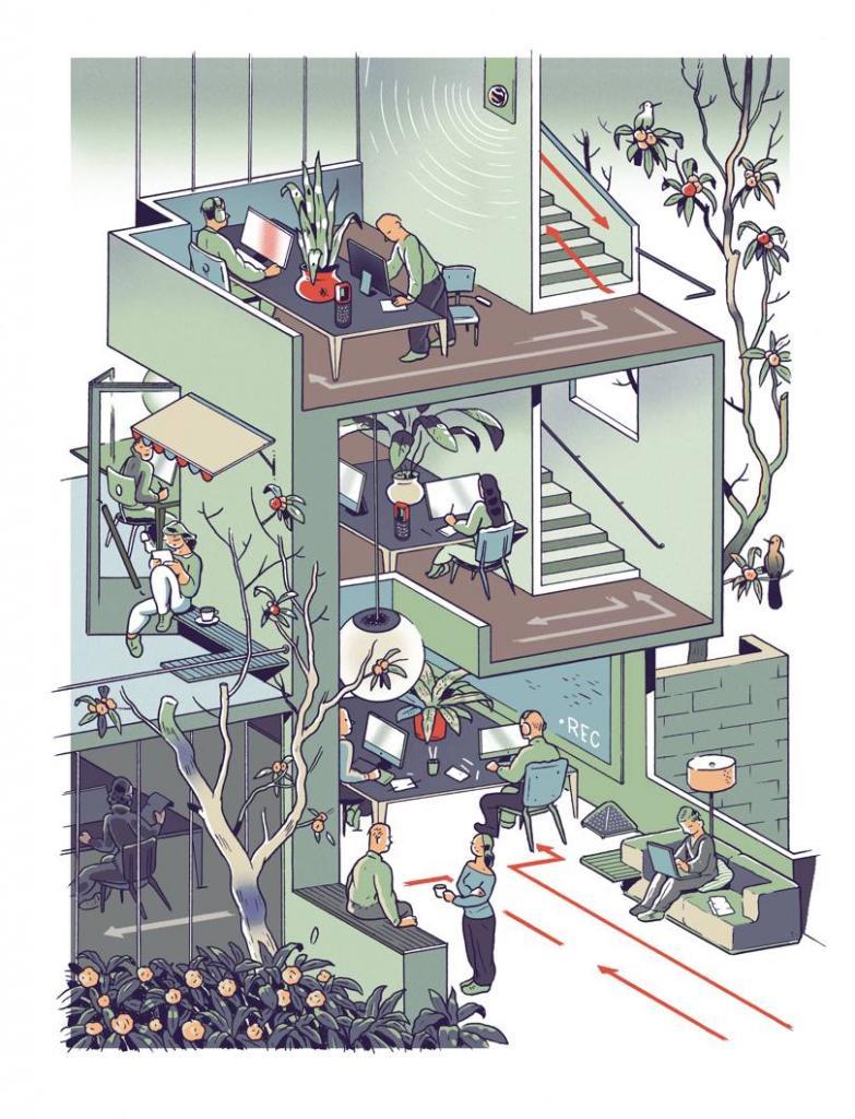 Чт,о если наше жилье, рабочие места и города будут проектироваться с соблюдением принципа социального дистанцирования после пандемии