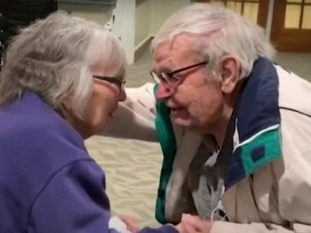 Встреча стариков