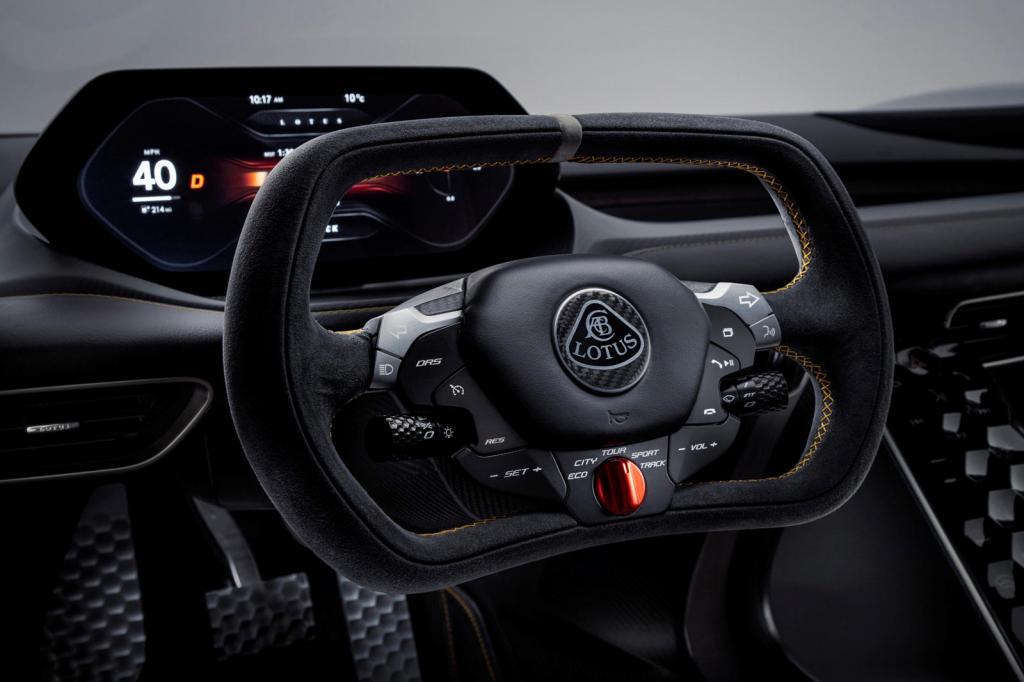 Платформа из углеродного волокна: детали дизайна Lotus Evija действительно впечатляют
