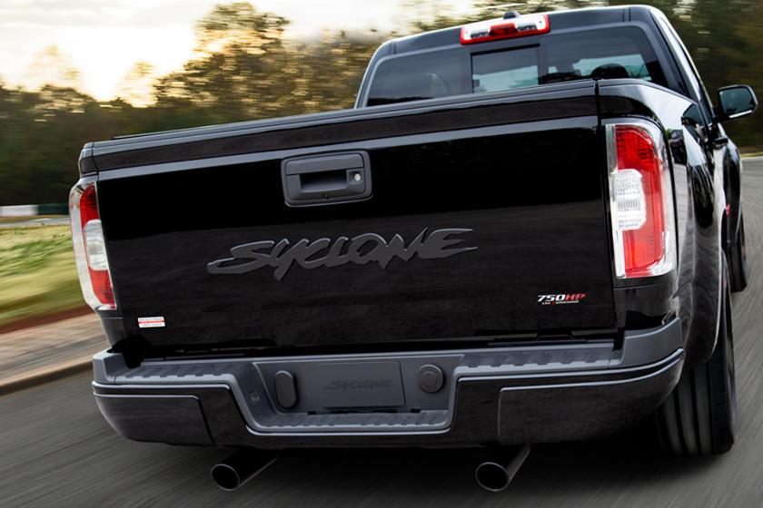 Система автоматического полного привода AWD: тюнер SVE представил модернизированный пикап 2021 GMC Syclone