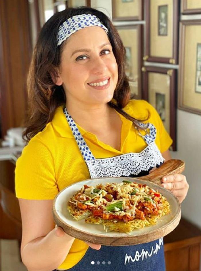 Простой рецепт домашней пиццы от шеф-повара с бататом и лимонным соком