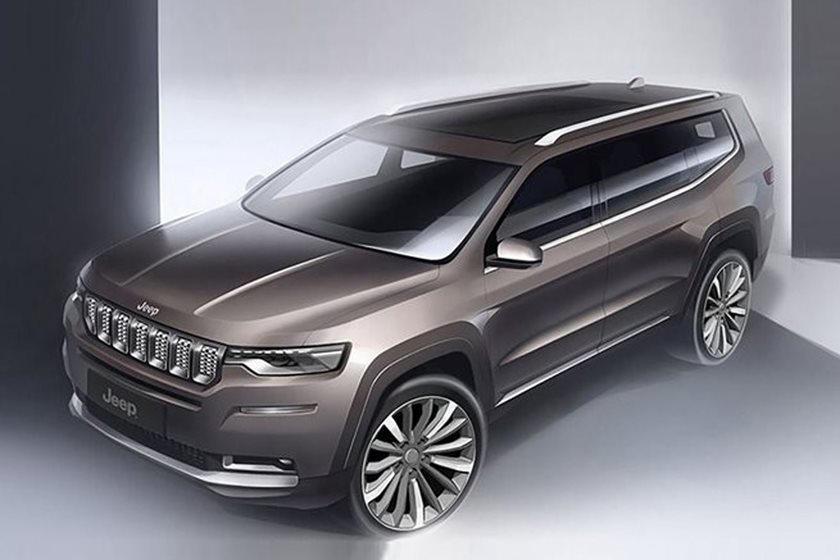 Роскошные полноразмерные внедорожники: готовятся к выпуску Jeep Wagoneer и Grand Wagoneer