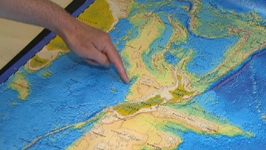 Под Новой Зеландией найден восьмой континент размером с Австралию (фото)