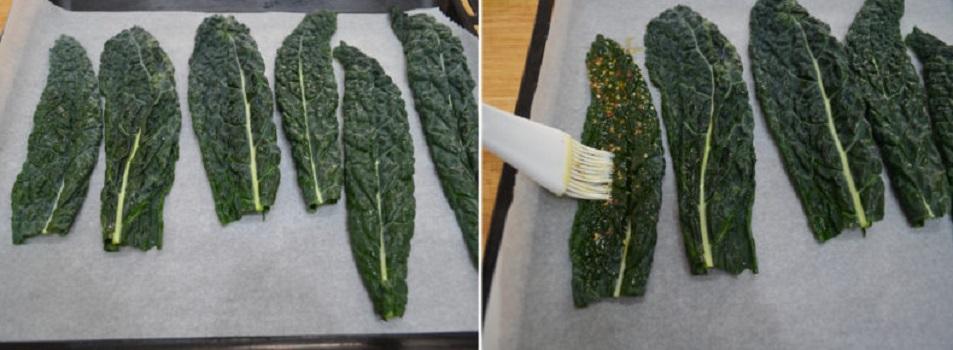 Чипсы из овощей были в моде пару лет назад, но мне особенно нравятся из капусты или листа салата: никогда не жалею специй