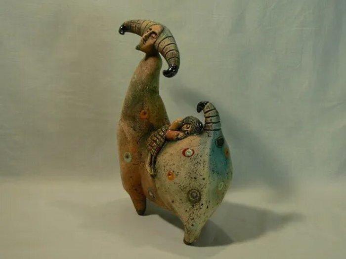 У художника-керамиста из Бобруйска необычное хобби: в свободное от работы время он отливает детали и собирает мотоциклы