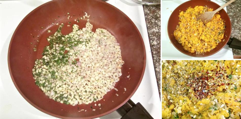 """Овощная """"матрешка"""" из тыквы, баклажана и грибов: помимо потрясающего вкуса меня радует дешевизна ингредиентов"""