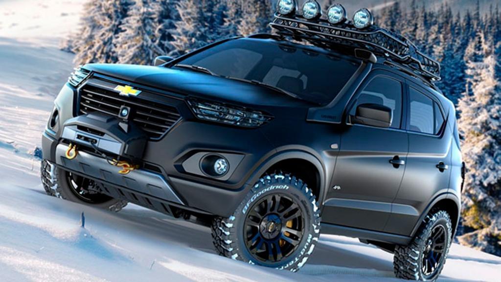 Chevrolet Niva обновится: через 3 года <span id=