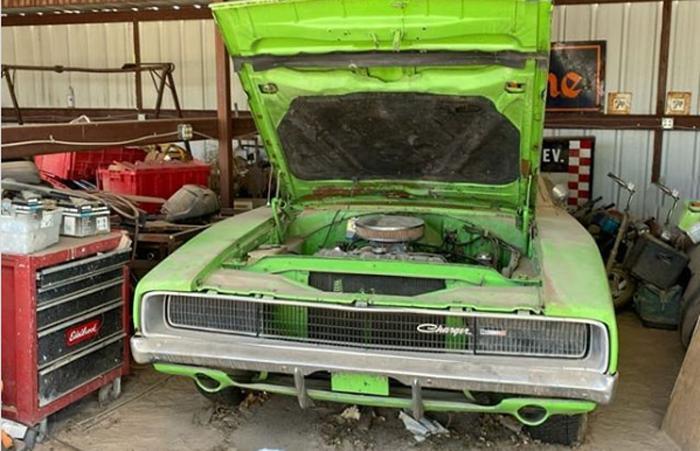 В Нью-Мексико нашли невероятно редкий Dodge Charger 1968 года: машин этой серии было выпущено всего 259 штук