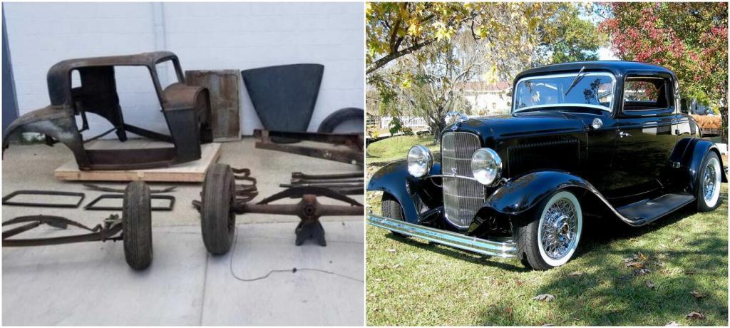 Конструктор для взрослых: в Иллинойсе выставили на продажу раритетный Ford Coupe 1932 года за $4 300, но в разобранном состоянии