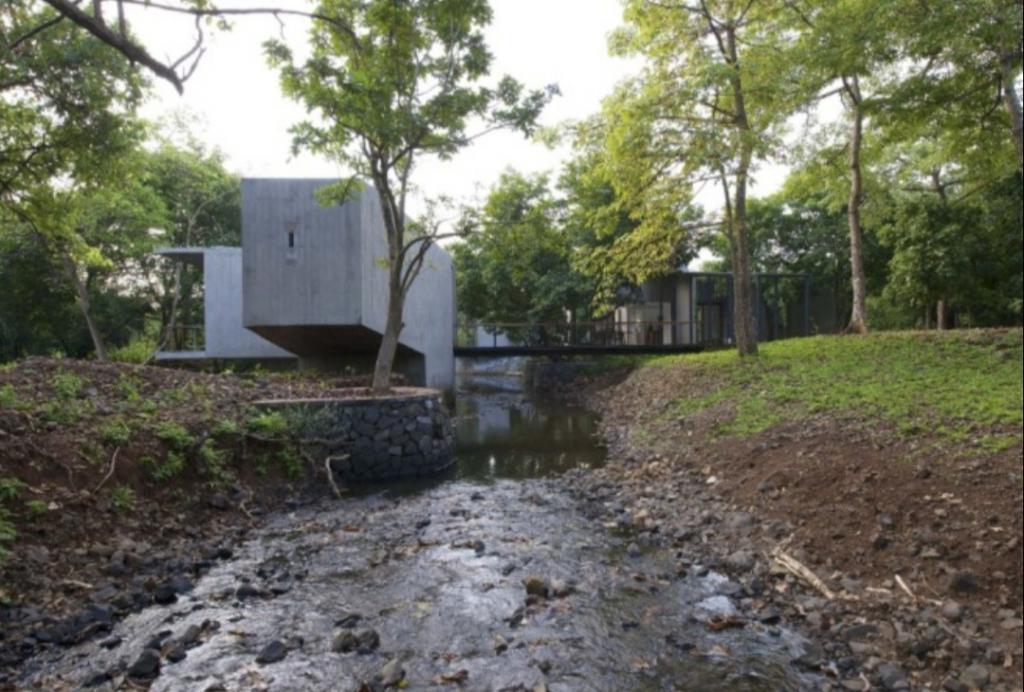 Дом, через который протекает ручей: фото необычного замысла архитектора