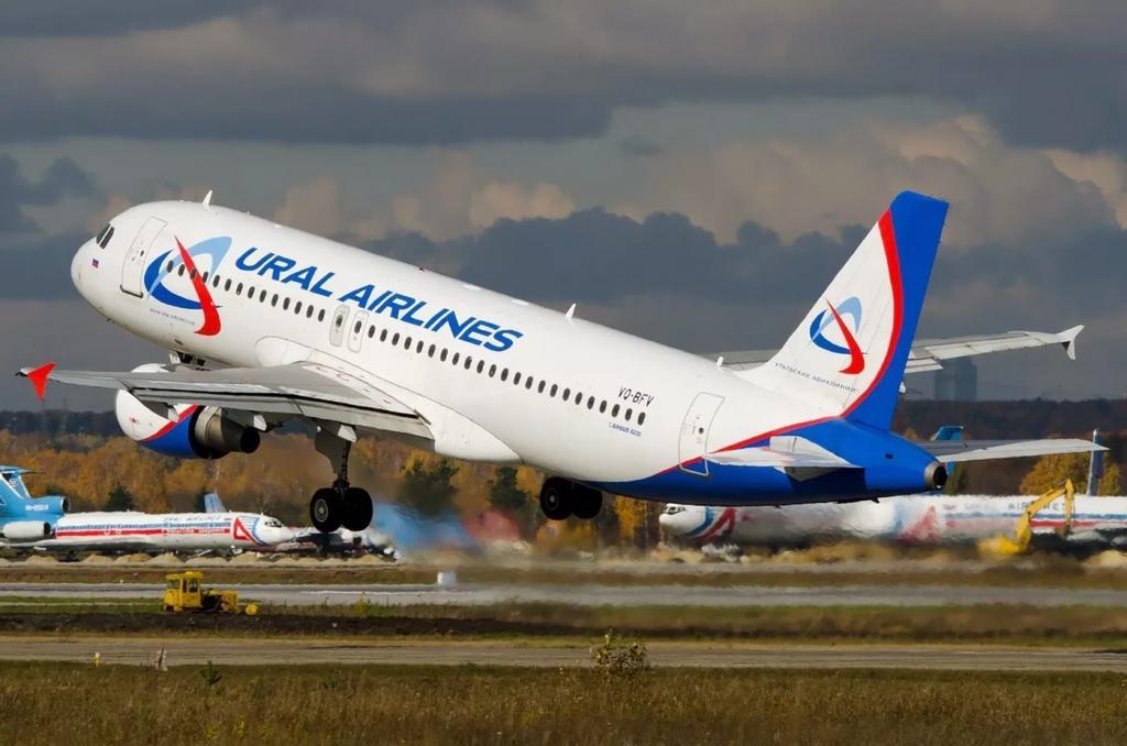 """Все самолеты задействованы в выполнении перелетов: """"Уральские авиалинии"""" функционируют в полном объеме,<span id="""