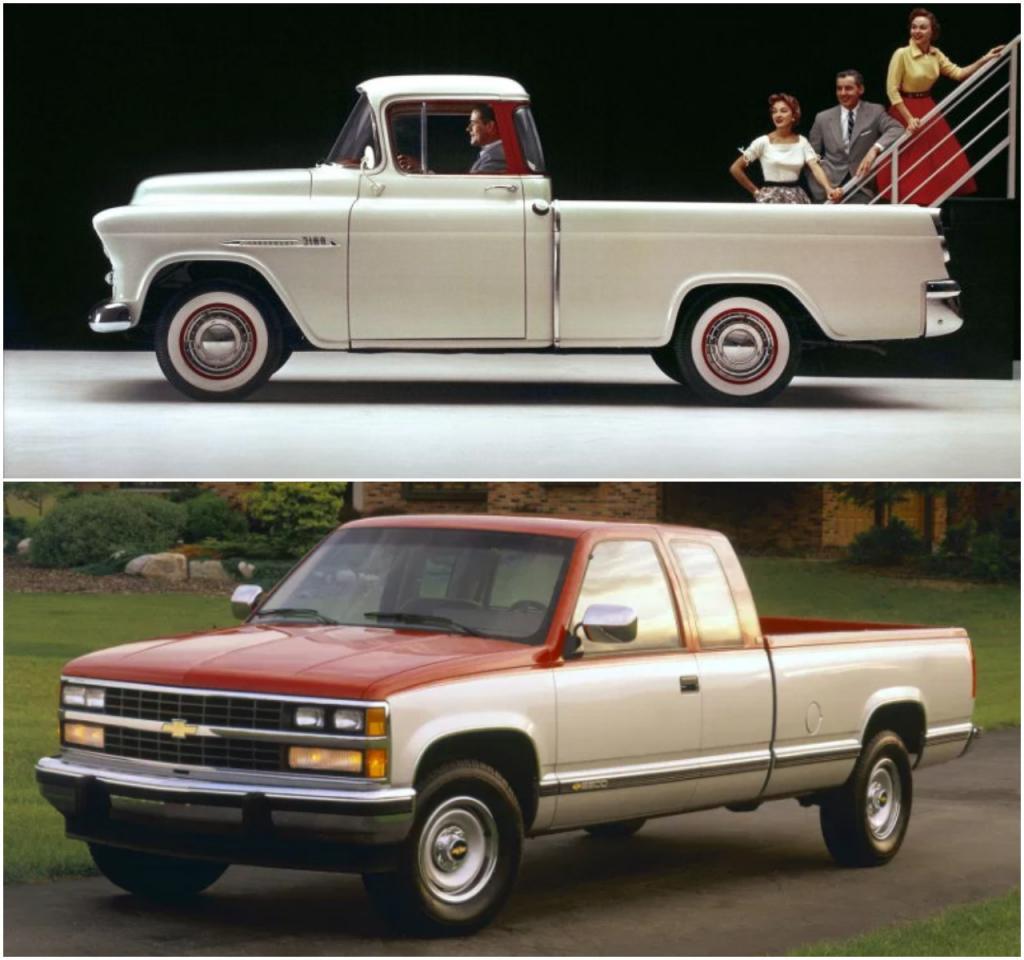 От рабочих лошадок к роскошным лайнерам: эволюция грузовых пикапов Ford, Chevrolet, Dodge и других брендов