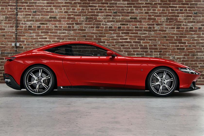 Тюнеры из Wheelsandmore прокачали Ferrari Roma: авто получает обновление 700-HP и новые колеса
