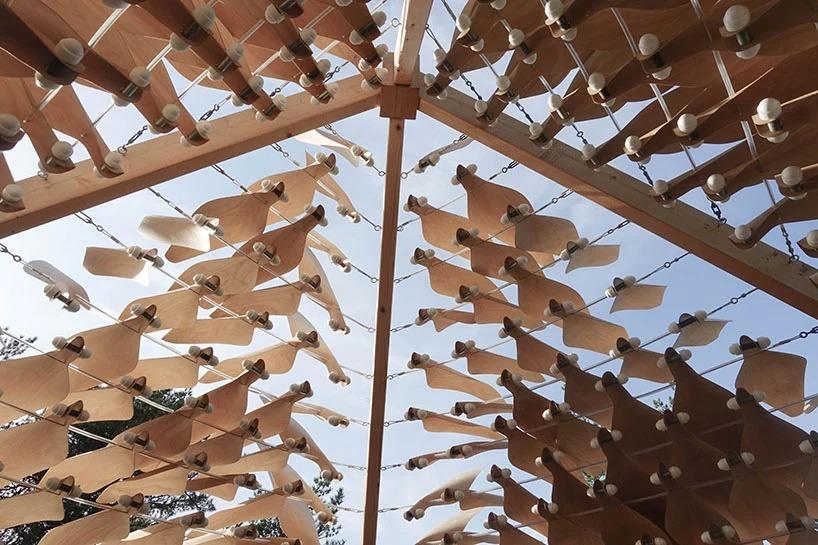 """Архитекторы создали проект дома с чешуеобразными стенами, которые адаптируются в ответ на природные условия: компания исследует идею о том, что архитектуру можно сделать """"живой"""""""