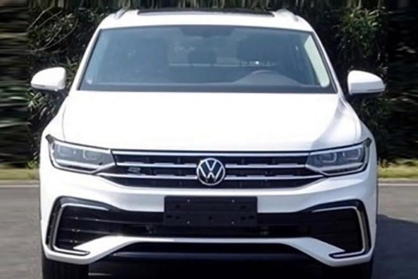 В Сети появились шпионские снимки: Volkswagen запатентовал новый купе-кроссовер VW Tiguan X