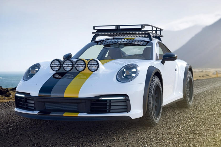 2021 Porsche 911 превратят в реплику ралли-кара: немецкий тюнер переделает новейшее авто по заказу владельца