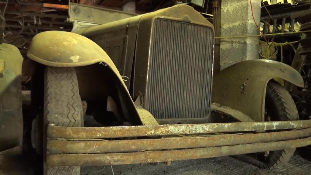 Раритетный Willys-Knight: один из 13 сохранившихся автомобилей стоял в сарае 60 лет