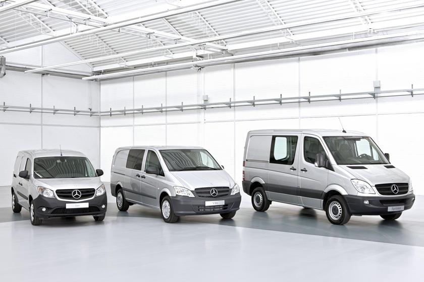 Mercedes-Benz готовит совершенно новую модель: это будет компактный городской фургон Mercedes-Benz T-класса