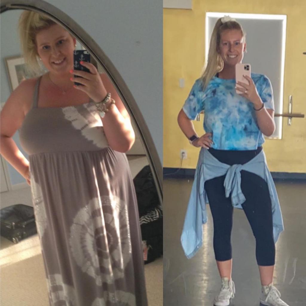 Похудеть не к лету, а на всю жизнь: благодаря интервальному питанию и танцам девушка похудела на 44 кг за 2 года (фото)