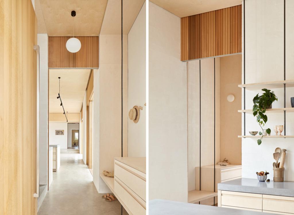 Архитекторы добавили светлую и просторную двухэтажную пристройку к коттеджу