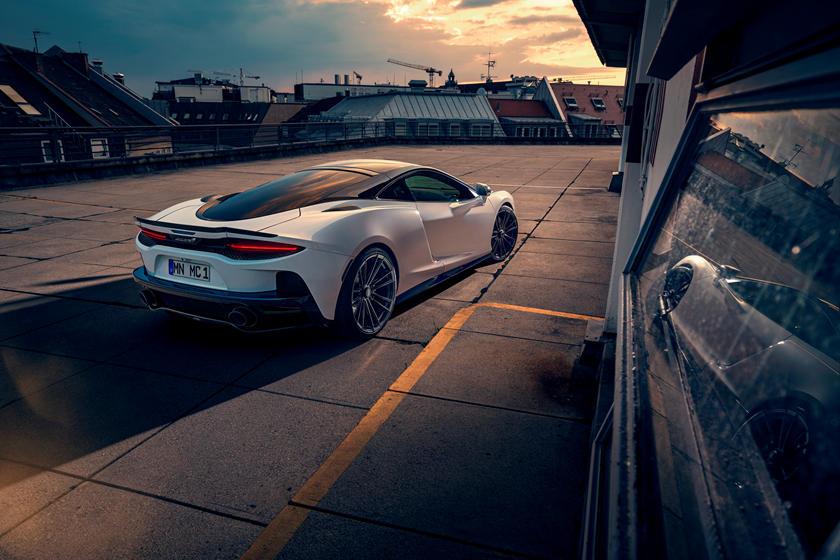 Совершенно новый уровень: в Novitec показали новую версию McLaren GT