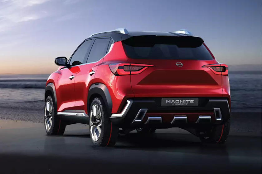 Потрясающий высококлассный интерьер: Nissan показал салон компактного бюджетного кроссовера Nissan Magnite
