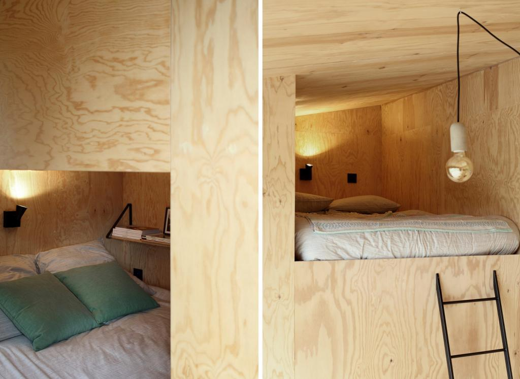 Семья захотела хижину в лесу, за помощью обратилась к дизайнерам. Дом получился стильным