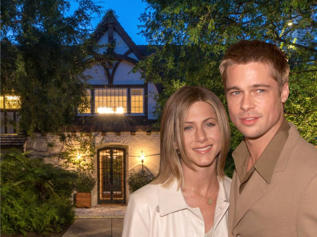 Их брак продлился 5 лет, но посмотрите, где они жили это время: 5 спален, 12 комнат и стоимость в 33 миллиона – особняк, где были счастливы Брэд Питт и Дженнифер Энистон