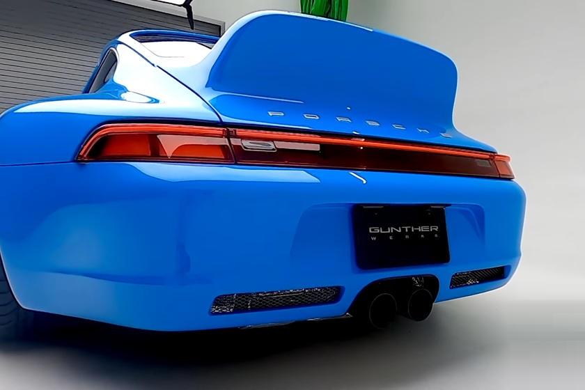 Переосмысление культового Porsche 911 поколения 993: Гюнтер Верк представил потрясающий рестомод 400R Mexico Blue