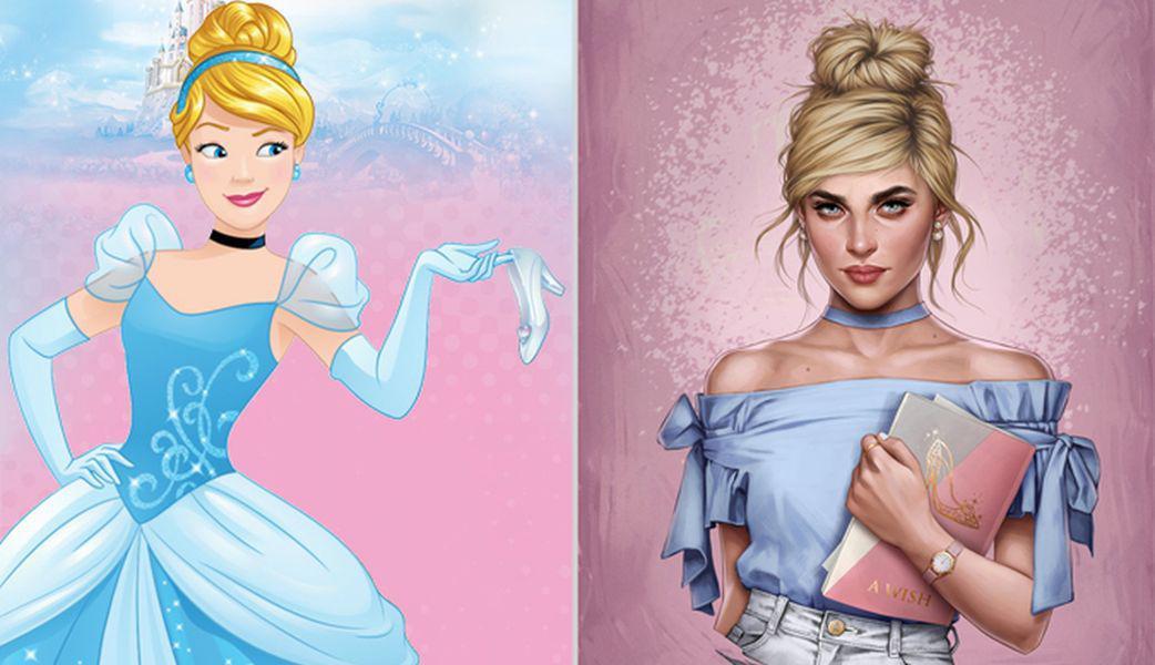 Картинки принцесс диснея в наше время