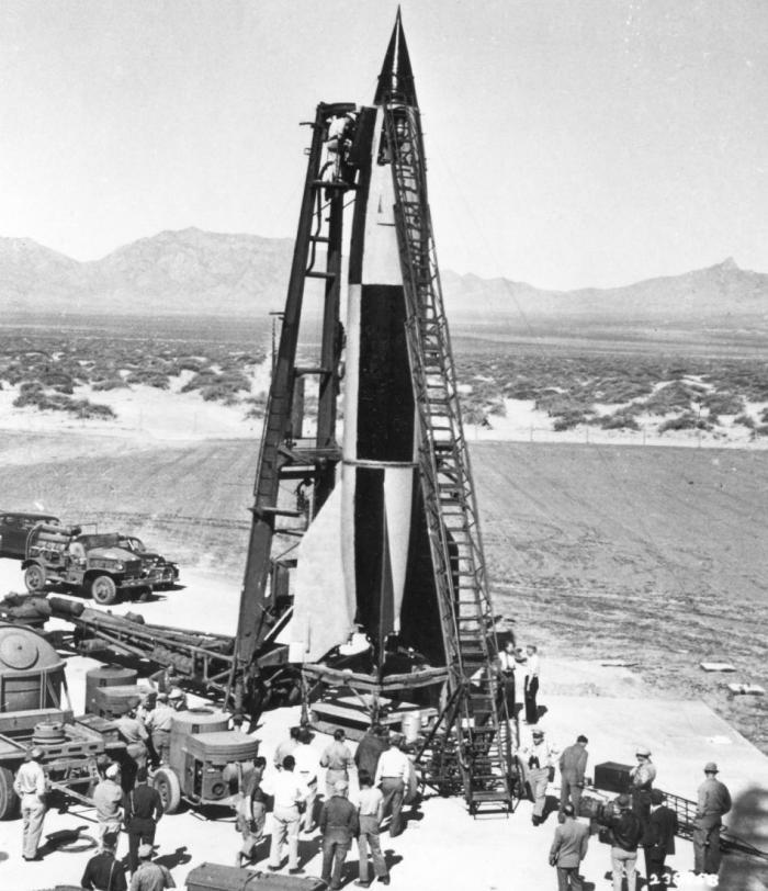 Советские ракетные работы начинались с освоения Фау-2