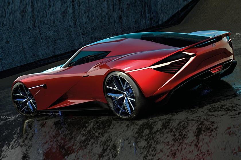 Потрясающе красивая Toyota H2 + Concept: дизайнер Дэвид Галлего представил, какбудет выглядеть суперкар будущего отToyota