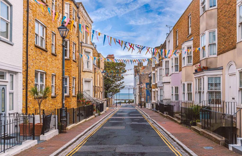 Рамсгейт - маленький город Британии с большой историей - отличное место для прогулок