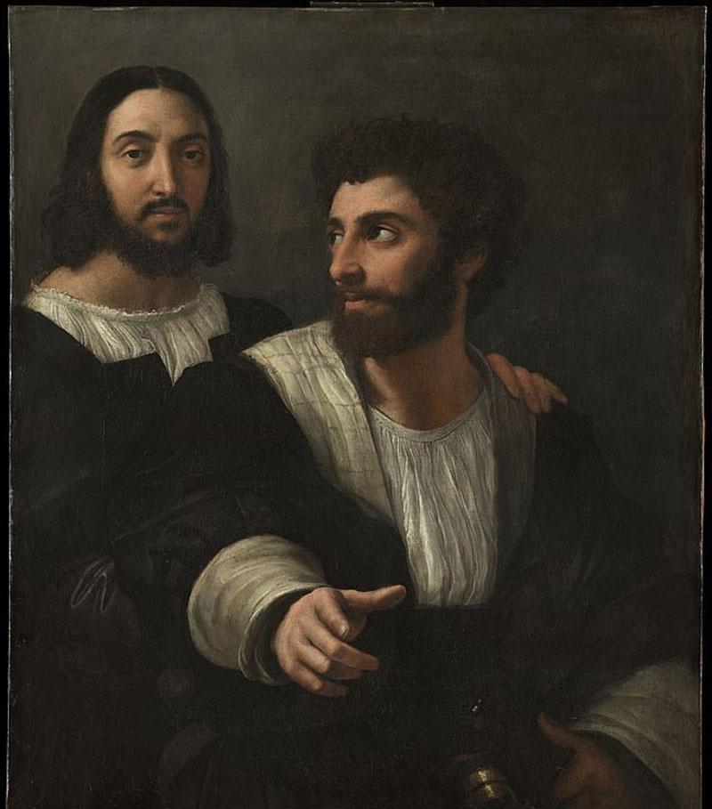 Ученым помогла реконструкция портрета: место захоронения художника Рафаэля найдено спустя 5 веков