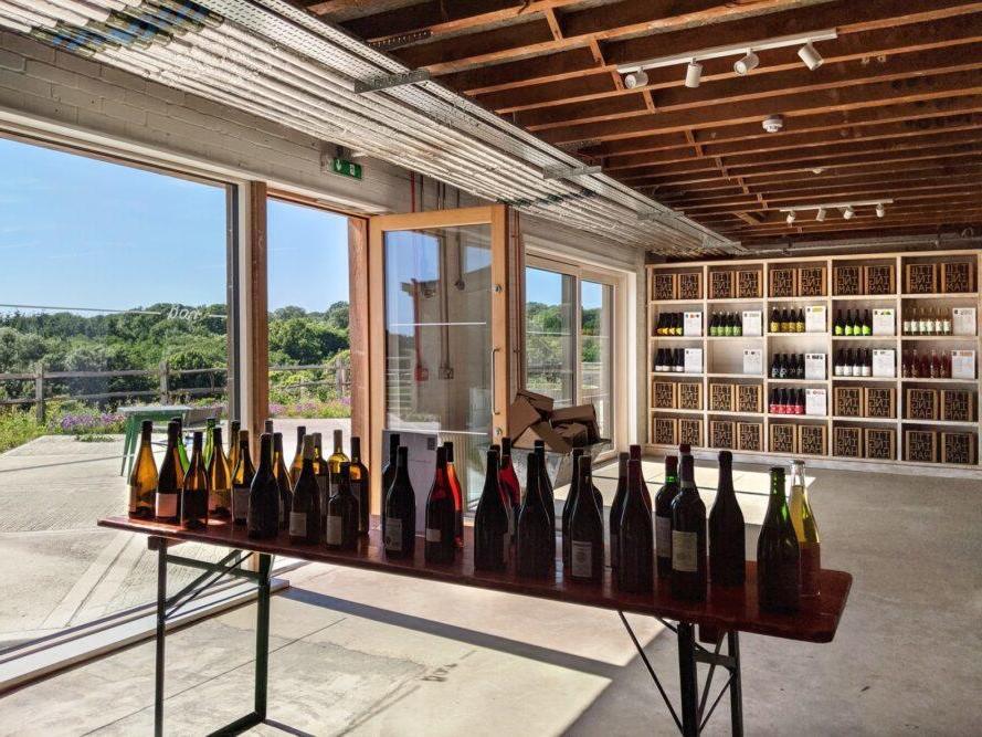 Архитекторы переделали историческую ферму 13-го века в органическую винодельню. Также на территории располагается отель, магазин и уютный ресторан