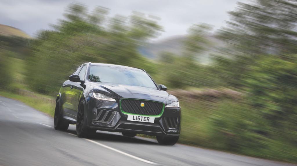 Больше 300 км в час: представлен самый быстрый и мощный британский кроссовер Lister Stealth на базе Jaguar F-Pace SVR